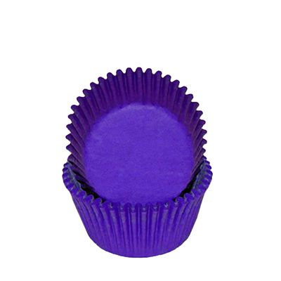 CUPCAKE CASE PURPLE 50PK, SWEET THEMES