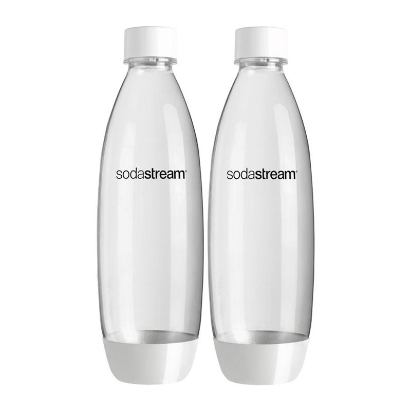 BOTTLE WHITE 1LT TWIN, SODASTREAM