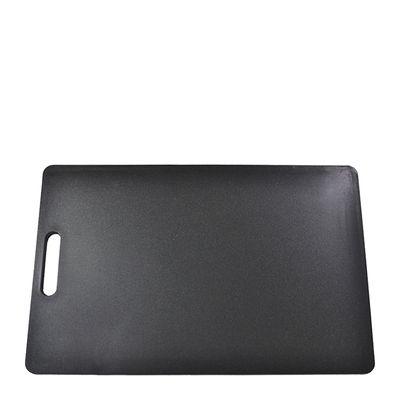 CUTTING BOARD BLACK 250X400X12MM PE
