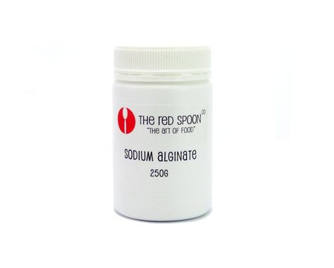 SODIUM ALGINATE 250GM, RED SPOON