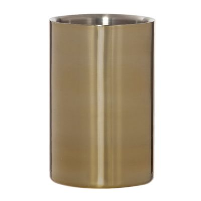 WINE COOLER S/ST GOLD, AMALFI RENZO