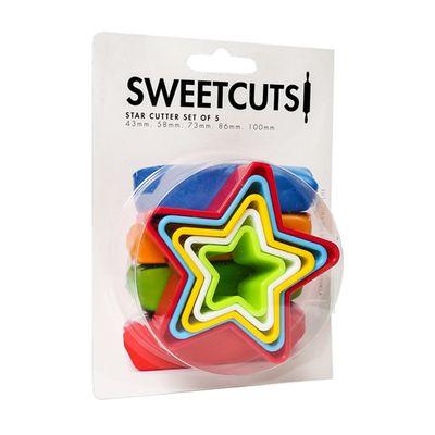 CUTTER SET STAR SET-5, SWEET CUTS