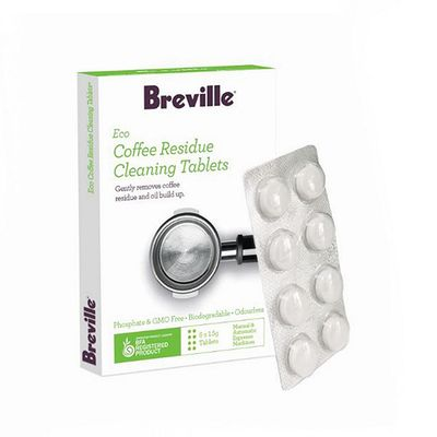ECO COFFEE RESIDUE TABLETS 8PK, BREVILLE