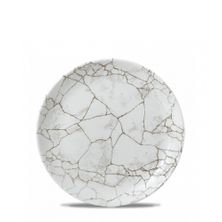 PLATE COUPE 288MM,C/HILL KINTSUGI