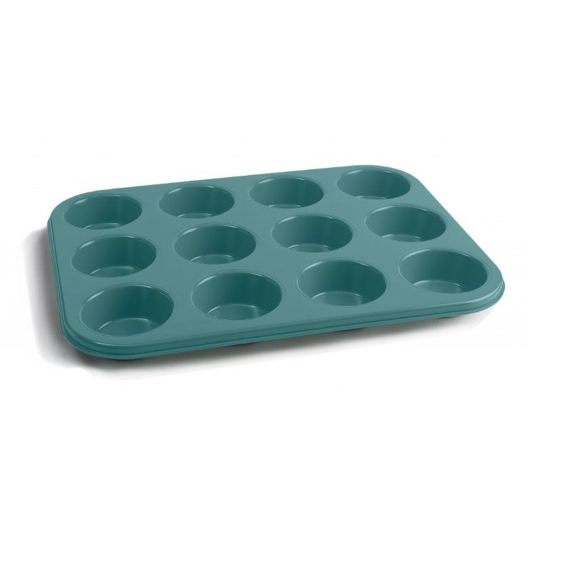 MUFFIN TRAY 12CUP N/S, JAMIE OLIVER