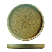 PLATE STACK FIRED EARTH 255MM, NOURISH