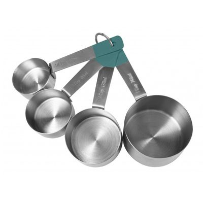 MEASURING CUPS 4PCE S/ST, JAMIE OLIVER