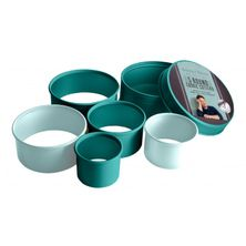 COOKIE CUTTER SET-5 ROUND, JAMIE OLIVER