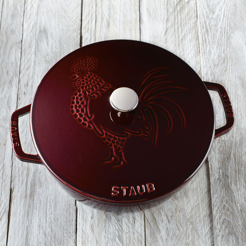 COCOTTE ROOSTER 24CM, STAUB
