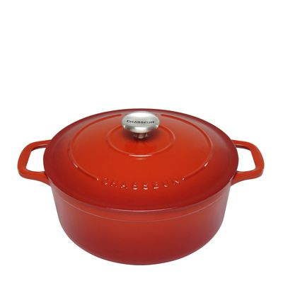 FRENCH OVEN ROUND 32CM, CHASSEUR