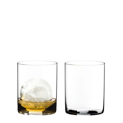 GLASS WHISKY 2PK,RIEDEL H2O CLASSIC BAR