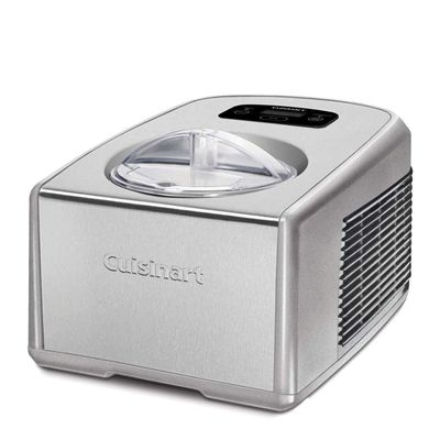 ICE CREAM MAKER W/COMPRESSOR, CUISINART