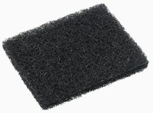 GRIDDLE PAD BLACK 15X11CM, OATES