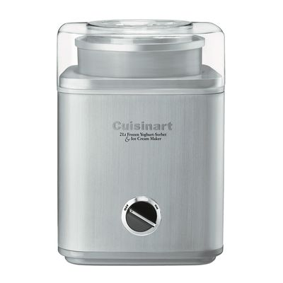 ICE-CREAM MAKER 2LT S/STEEL, CUISINART