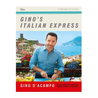 COOKBOOK,GINO'S ITALIAN EXPRESS