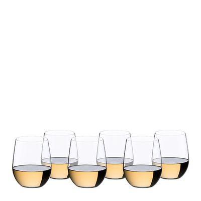 GLASS CHARDONNAY 6PK RIEDEL 'O' SERIES