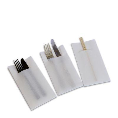 NAPKIN POCKET/DINNER GT WHITE, CAPRICE