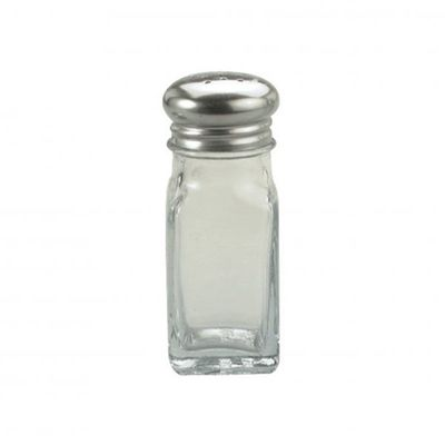 SALT & PEPPER SHAKER GLASS 60ML