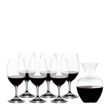 GLASS OUVERTURE PAY 6 GET APPLE DECANTER