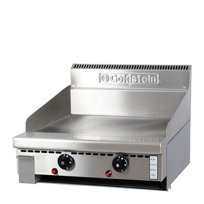 GRIDDLE GAS SMOOTH 610MM GOLDSTEIN