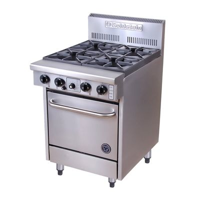RANGE GAS 4 BURNER GOLDSTEIN