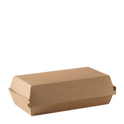 MEAL BOX BROWN LRG, DETPAK GO 250CTN