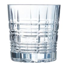 GLASS OLD FASHIONED 300ML BRIXTON P4188