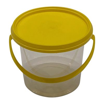 CLEAR BUCKET WITH LID