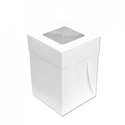 CAKE BOX + LID 8X8X12IN