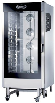 OVEN MANUAL 16 TRAY BAKERLUX ECO UNOX