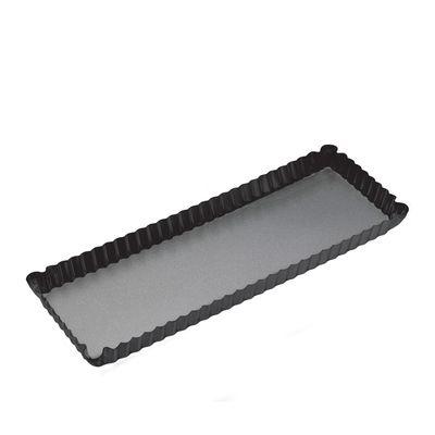 FLAN/QUICHE PAN 36X13CM N/S, MASTERCRAFT