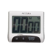 TIMER DIGITAL WHITE 99MIN, ACCURA