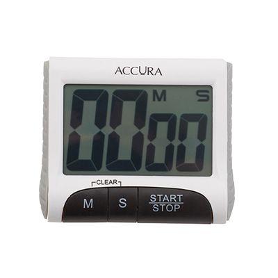 ACCURA DIGITAL RD/WH TIMER 99MIN