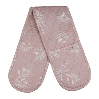 OVEN GLOVE DBL PINK, OLIVE GROVE
