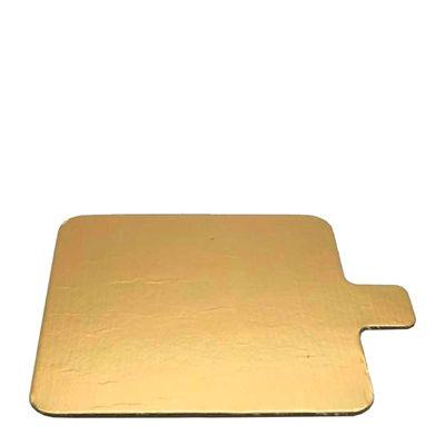 SLIP BOARD GOLD SQUARE 90MM, 100PCE