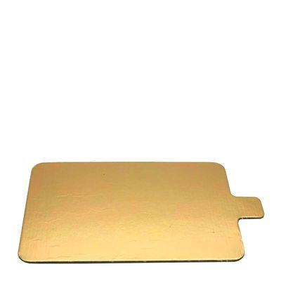SLIP BOARD GOLD 55X95MM, 100PCE