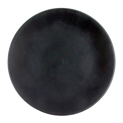 PLATE COUPE BLACK 28CM, THE GOOD PLATE