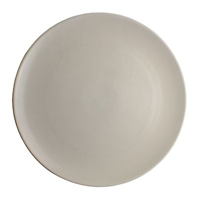 PLATE COUPE WHITE 28CM, THE GOOD PLATE