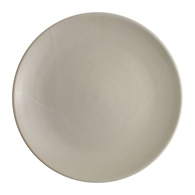 PLATE COUPE WHITE 22.5CM, THE GOOD PLATE