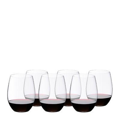 GLASS CAB/MERLOT 6PK, RIEDEL 'O' SERIES