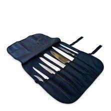 KNIFE ROLL 7 POCKET BLACK, CHEFWORKS