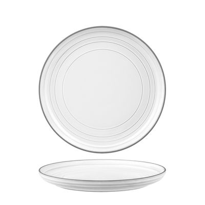 PLATE WHITE COUPE 220MM, TK LINEA