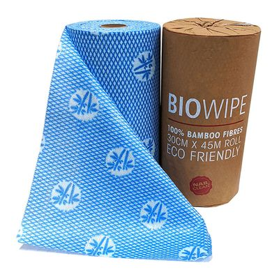 ROLL WIPES BAMBOO 90 SHEETS 45M
