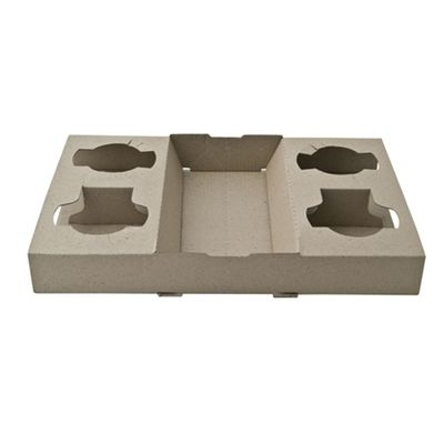 DETPAK COFFEE TRAY 4 CUP PAPER