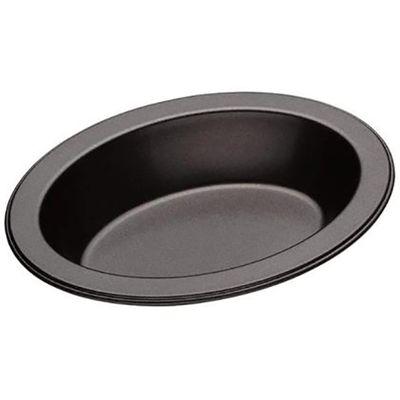 PIE DISH OVAL BLACK 13.5X10CM, M/PRO