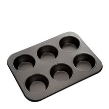 MUFFIN PAN USA 6 CUP, MASTERPRO