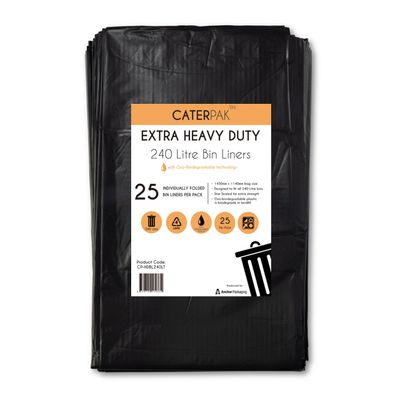 HEAVYDUTY GARBAGE BAG 240LT