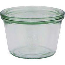 JAR GLASS W/LID 370ML,100X69MMM, WECK