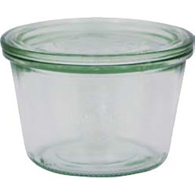 WECK JAR GLASS W/LID