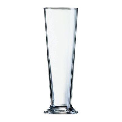 GLASS TUMBLER LINZ FOOTED CERT 390ML,ARC